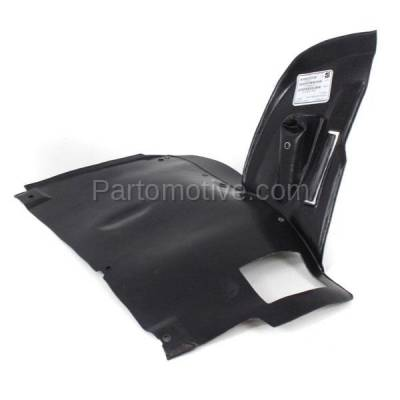 Aftermarket Replacement - ESS-1081L 97-00 5-Series Engine Splash Shield Under Cover Lower LH Driver Side 51718159425 - Image 2
