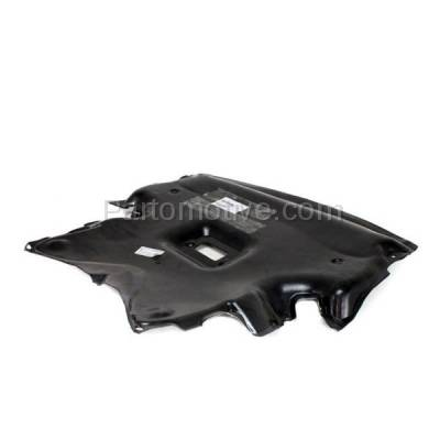 Aftermarket Replacement - ESS-1463 03-09 CLK-Class, 05-06 C55 AMG Front Engine Splash Shield Under Cover 2095241730 - Image 2