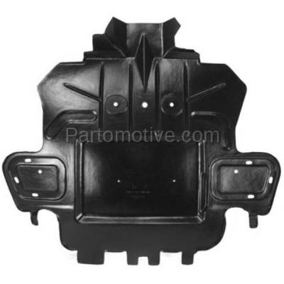 Aftermarket Replacement - ESS-1201 08-14 CTS AWD Front Engine Splash Shield Under Cover Undercar GM1228136 15835283 - Image 1