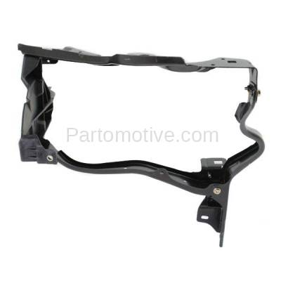 Aftermarket Replacement - RSP-1528R 2010-2013 Mercedes-Benz E-Class Sedan/Wagon Front Radiator Support Headlamp Mounting Bracket Panel Primed Steel Right Passenger Side - Image 1