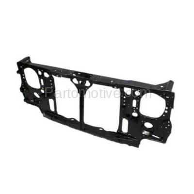 Aftermarket Replacement - RSP-1619 1995-1997 Nissan Pickup Truck (Base, King Cab XE-V6, SE, XE) (2.4 & 3.0 Liter) Front Radiator Support Core Assembly Primed Steel - Image 3