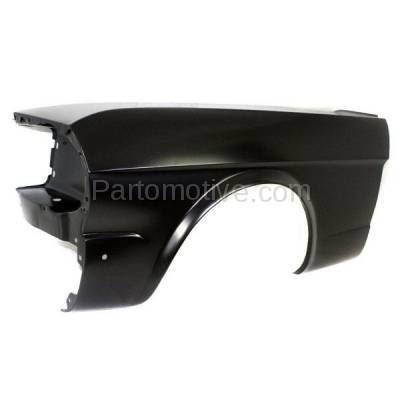Aftermarket Replacement - FDR-1518L 1964-1966 Ford Mustang (Convertible, Fastback, Hardtop 2-Door) Front Fender Quarter Panel (without Molding Holes) Primed Left Driver Side - Image 2