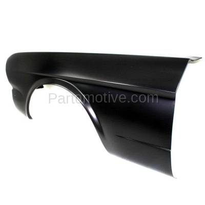 Aftermarket Replacement - FDR-1518L 1964-1966 Ford Mustang (Convertible, Fastback, Hardtop 2-Door) Front Fender Quarter Panel (without Molding Holes) Primed Left Driver Side - Image 3