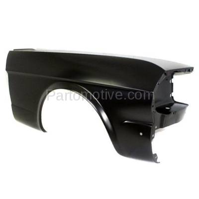 Aftermarket Replacement - FDR-1518R 1964-1966 Ford Mustang (Convertible, Fastback, Hardtop 2-Door) Front Fender Quarter Panel (without Molding Holes) Primed Right Passenger Side - Image 2