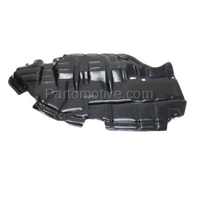 Aftermarket Replacement - ESS-1588L 2015-2017 Toyota Camry 2.5L & 3.5L Front Engine Under Cover Splash Shield Undercar Guard Air Deflector Plastic Left Driver Side - Image 1