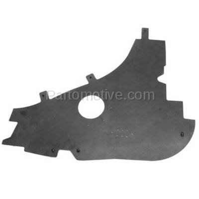 Aftermarket Replacement - ESS-1127L 09-14 F150 Pickup Truck Engine Splash Shield Under Cover Driver Side FO1228129 - Image 1
