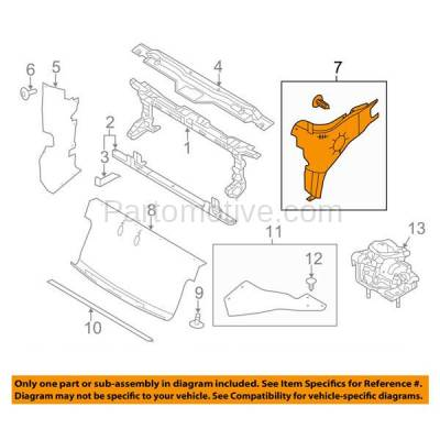 Aftermarket Replacement - ESS-1127L 09-14 F150 Pickup Truck Engine Splash Shield Under Cover Driver Side FO1228129 - Image 3