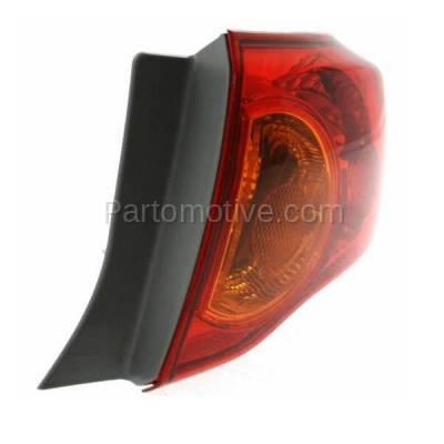 Aftermarket Auto Parts - TLT-1396RC CAPA 09-10 Toyota Corolla Taillamp Taillight Brake Light Lamp Passenger Side RH - Image 2