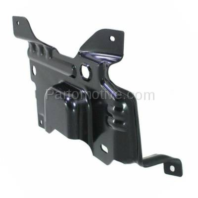Aftermarket Replacement - BBK-1142R 2009-2014 Ford F150 Lightduty Pickup Truck Front Bumper Face Bar Retainer Mounting Plate Brace Bracket Made of Steel Right Passenger Side - Image 2