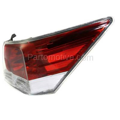 Aftermarket Auto Parts - TLT-1379RC CAPA 08-12 Accord Sedan Taillight Taillamp Rear Brake Light Lamp Passenger Side - Image 2