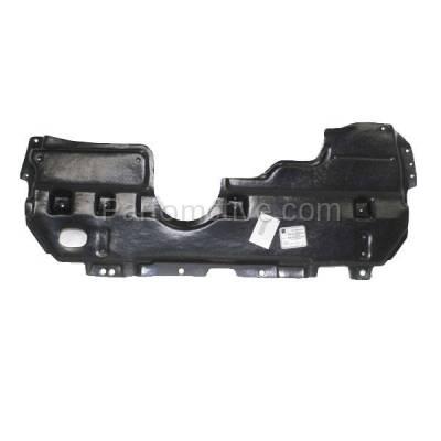 Aftermarket Replacement - ESS-1552 2008-2017 Lexus HS250h & Scion tC, xB & Toyota Corolla iM Front Lower Engine Under Cover Splash Shield Undercar Guard Plastic - Image 1