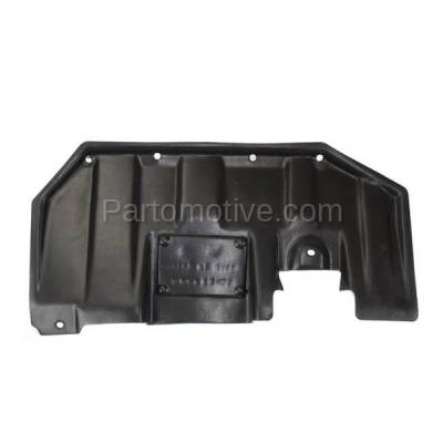 Aftermarket Replacement - ESS-1487L 2007-2018 Mitsubishi Outlander & 2011-2018 Outlander Sport, RVR Front Engine Under Cover Splash Shield Undercar Guard Left Side - Image 1