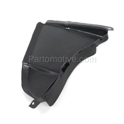 Aftermarket Replacement - ESS-1085L 04-10 5-Series w/o M-Package Engine Splash Shield Under Cover Left Driver Side - Image 2