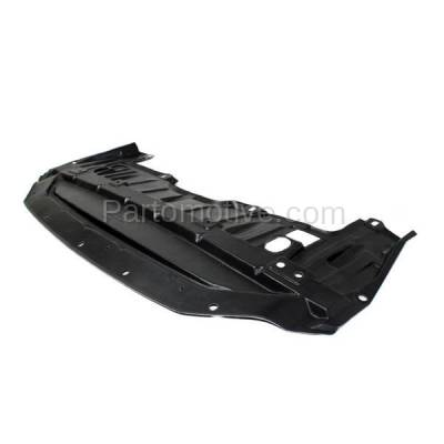 Aftermarket Replacement - ESS-1513 Front Engine Splash Shield Under Cover Undercar For 13-15 Altima Sedan NI1228145 - Image 2