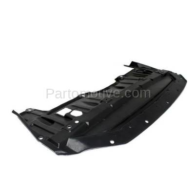 Aftermarket Replacement - ESS-1513 Front Engine Splash Shield Under Cover Undercar For 13-15 Altima Sedan NI1228145 - Image 3