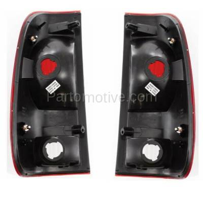 Aftermarket Auto Parts - TLT-1482LC & TLT-1482RC CAPA Ford F-Series Truck Taillight Taillamp Brake Light Lamp Left Right Set PAIR - Image 3