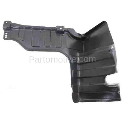 Aftermarket Replacement - ESS-1284R Engine Splash Shield Under Cover Undercar For 11-15 Elantra Right Side HY1228169 - Image 1