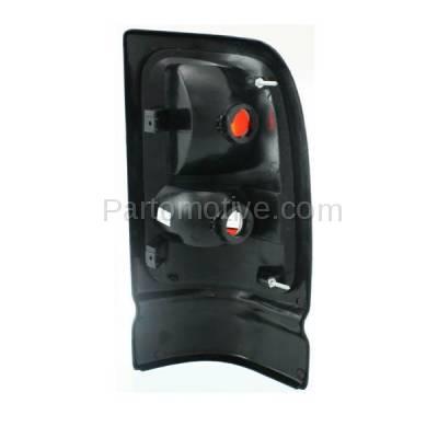 Aftermarket Auto Parts - TLT-1520LC CAPA Dodge Ram Pickup Truck Taillight Taillamp Rear Brake Light LENS Driver Side - Image 3