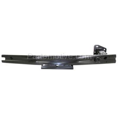 Aftermarket Replacement - BRF-1683F 2007-2012 Nissan Versa (includes Driver Side Rail Extension) Front Bumper Impact Face Bar Crossmember Reinforcement Primed Steel - Image 1