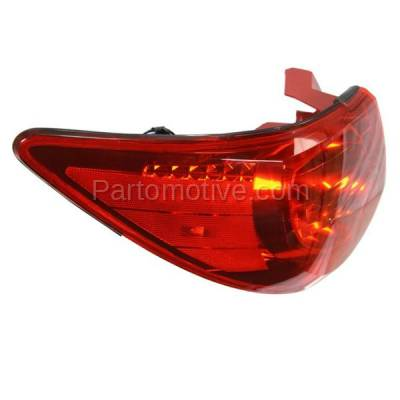 Aftermarket Auto Parts - TLT-1608LC CAPA 09-12 Chevy Traverse Taillight Taillamp Rear Brake Light Lamp Driver Side L - Image 2