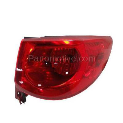 Aftermarket Auto Parts - TLT-1608RC CAPA 09-12 Traverse Taillight Taillamp Rear Brake Light Lamp Passenger Side RH - Image 1