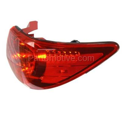 Aftermarket Auto Parts - TLT-1608RC CAPA 09-12 Traverse Taillight Taillamp Rear Brake Light Lamp Passenger Side RH - Image 2