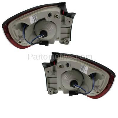 Aftermarket Auto Parts - TLT-1607LC & TLT-1607RC CAPA 08-12 Enclave Taillight Taillamp Rear Brake Light Lamp Left Right Set PAIR - Image 3