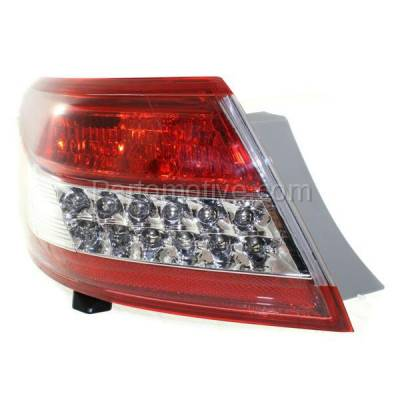 Aftermarket Auto Parts - TLT-1619LC CAPA 10-11 Camry Taillight Taillamp Rear Brake Outer Light Lamp Driver Side LH L - Image 2