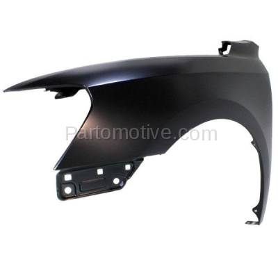 Aftermarket Replacement - FDR-1555L 2012-2015 Volkswagen Passat Sedan (1.8 & 2.0 & 2.5 & 3.6 Liter Engine) Front Fender Quarter Panel Primed Steel Left Driver Side - Image 2