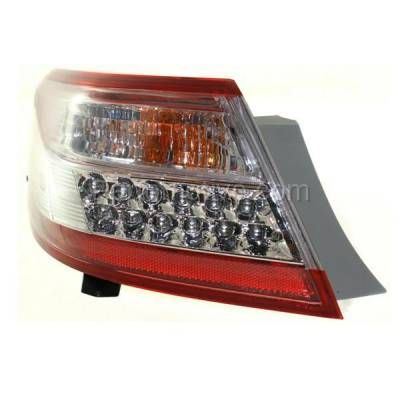 Aftermarket Auto Parts - TLT-1657LC CAPA 10-11 Camry Hybrid Taillight Taillamp Rear Brake Light Lamp Driver Side LH - Image 2