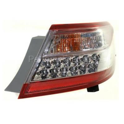 Aftermarket Auto Parts - TLT-1657RC CAPA 10-11 Camry Hybrid Taillight Taillamp Rear Brake Light Lamp Passenger Side - Image 2