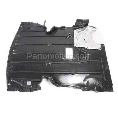 Aftermarket Replacement - ESS-1070 06-13 3-Series Front Engine Splash Shield Under Cover w/Aluminum Pad 51757129341 - Image 2
