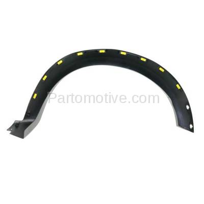 Aftermarket Replacement - FDF-1034R 10-14 F150 Pickup Truck Front Fender Flare Wheel Opening Molding Trim Right Side - Image 3