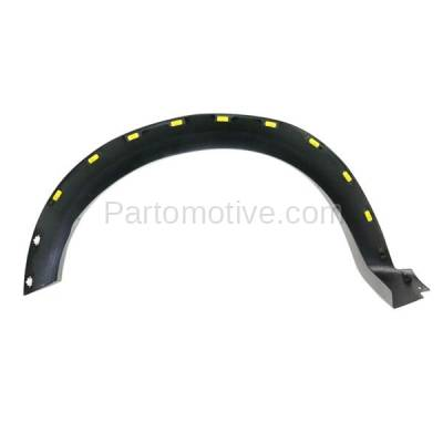Aftermarket Replacement - FDF-1034L 10-14 F150 Pickup Truck Front Fender Flare Wheel Opening Molding Trim Left Side - Image 3