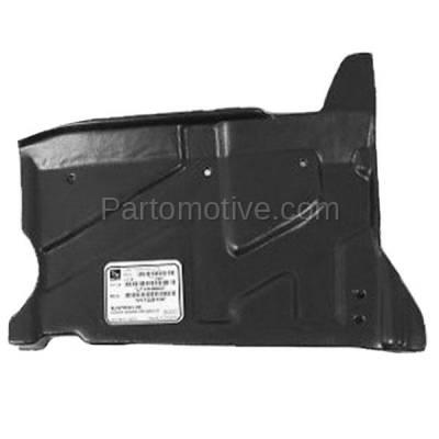 Aftermarket Replacement - ESS-1316L Engine Splash Shield Under Cover For 01-06 Elantra/03-08 Tiburon LH Driver Side - Image 1