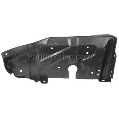 Aftermarket Replacement - ESS-1316R Engine Splash Shield Under Cover For 01-06 Elantra/03-08 Tiburon Passenger Side - Image 1