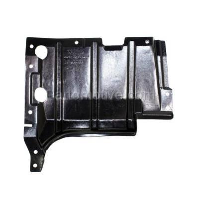 Aftermarket Replacement - ESS-1491L 02-07 Lancer Front Engine Splash Shield Under Cover Guard Driver Side MI1228108 - Image 1