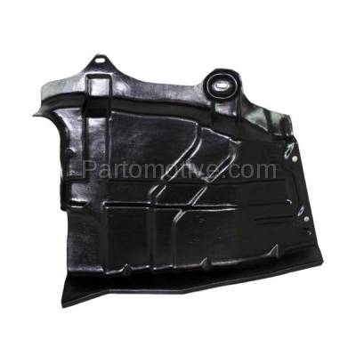 Aftermarket Replacement - ESS-1525L Front Engine Splash Shield Under Cover For 04-09 Quest LH Driver Side 64839CK010 - Image 1