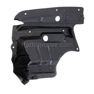 Aftermarket Replacement - ESS-1535R Front Splash Shield Under Guard For 02-03 Maxima 02-04 I35 Right Side NI1249110 - Image 1