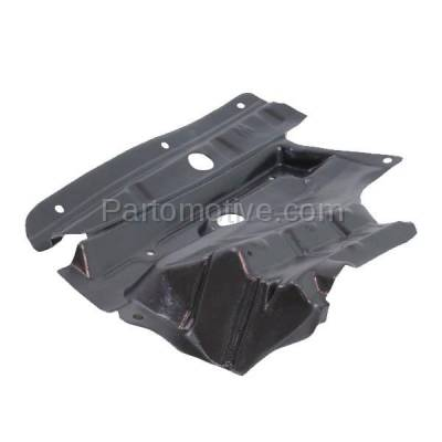 Aftermarket Replacement - ESS-1535R Front Splash Shield Under Guard For 02-03 Maxima 02-04 I35 Right Side NI1249110 - Image 2