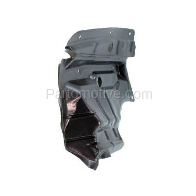 Aftermarket Replacement - ESS-1535R Front Splash Shield Under Guard For 02-03 Maxima 02-04 I35 Right Side NI1249110 - Image 3