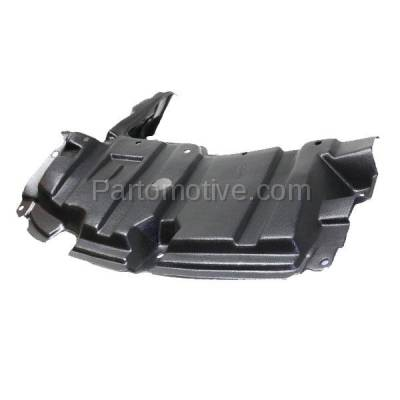 Aftermarket Replacement - ESS-1586L 12-15 Prius C Front Engine Splash Shield Under Cover Guard Driver Side TO1228208 - Image 2