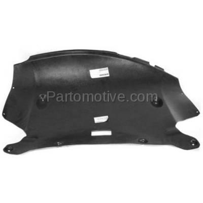 Aftermarket Replacement - ESS-1068 06-07 5-Series V6 Center Engine Splash Shield Under Cover BM1228128 51757138601 - Image 1