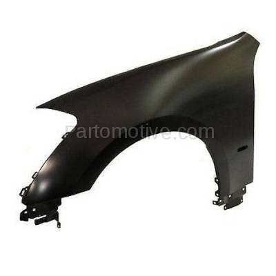 Aftermarket Replacement - FDR-1452LC CAPA 2008-2010 Infiniti M35 & M45 (3.5 & 4.5 Liter V6/V8 Engine) Front Fender Quarter Panel Primed Steel Left Driver Side - Image 2