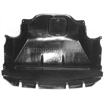 Aftermarket Replacement - ESS-1076 97-03 5-Series 540i Center Engine Splash Shield Under Cover Undercar 51718159981 - Image 1