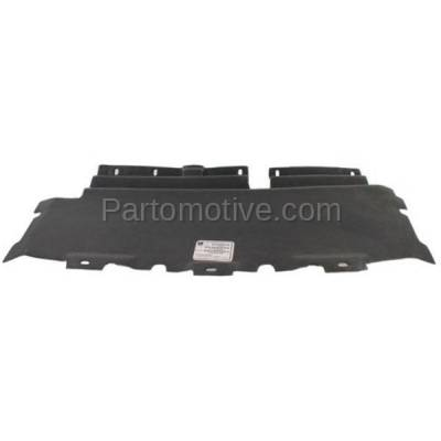 Aftermarket Replacement - ESS-1160 99-04 F-Series Pickup 2WD Lower Engine Splash Shield Under Cover/Air Deflector - Image 1