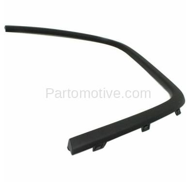 Aftermarket Replacement - FDF-1013L 11-16 Grand Cherokee Front Fender Flare Wheel Opening Molding Trim Driver Side - Image 2