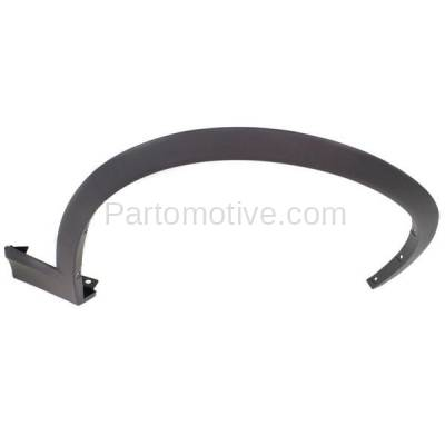 Aftermarket Replacement - FDF-1003R 11-17 X3/X4 Front Fender Flare Wheel Opening Molding Trim Right Passenger Side - Image 1