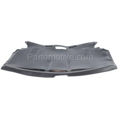 Aftermarket Replacement - ESS-1055 04-10 6-Series V8 Center Engine Splash Shield Under Cover BM1228123 51757009723 - Image 1