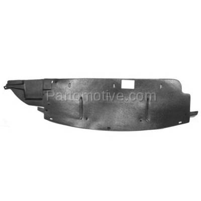 Aftermarket Replacement - ESS-1151 08-09 Taurus Engine Splash Shield Under Cover/Air Deflector FO1228107 8G1Z8327A - Image 1